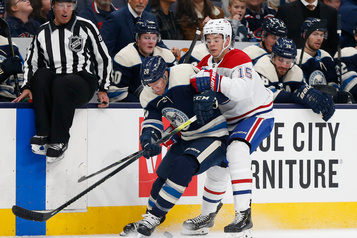 Canadien 2 - Blue Jackets 2 (2e entracte)
