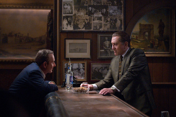 The Irishman de Scorsese sera présenté au Festival de Rome