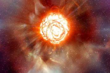 L'étoile Bételgeuse pâlit, les astronomes en ébullition