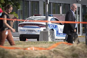 Coups de feu près du CUSM La policière atteinte n'était pas visée par le tireur)