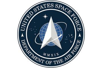 Le nouveau logo de la Force de l'espace rappelle Star Trek