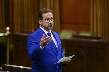 Bloc québécois Yves-François Blanchet n'est pas en faveur d'une élection, mais se dit prêt)