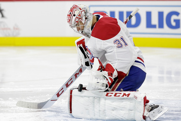 Canadien-Blues : Price devant le filet, Folin remplace Fleury