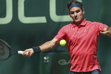 Tournoi de Halle Roger Federer réussit son entrée)