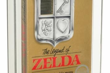 Une cartouche du jeu vidéo Zelda vendue 870000dollars)