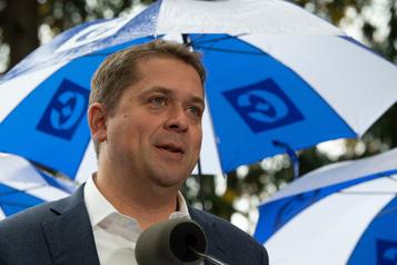 Andrew Scheer: «Un vote pour le Bloc, c'est un vote pour le référendum»