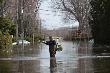 La crue des eaux sous haute surveillance