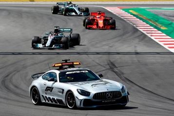 Voiture de sécurité et voiture médicale, anges gardiens de la F1