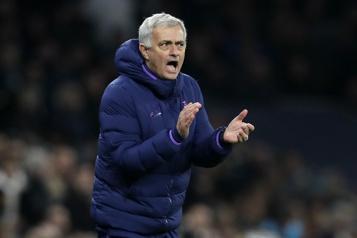 José Mourinho dirigera l'AS Rome)