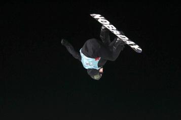 Surf des neiges Maxence Parrot reprend là où il avait laissé)