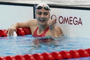 Natation Kylie Masse, la nageuse de l'ombre)