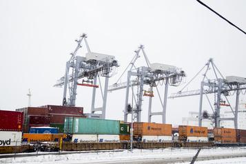 Pas d'accumulation de conteneurs au Port de Montréal