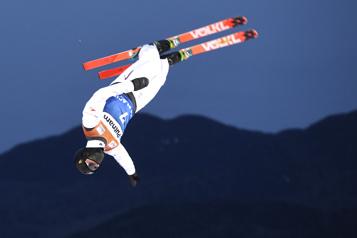 Coupe du monde de ski acrobatique La troisième est la bonne pour Lewis Irving)