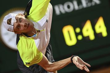 ATP Denis Shapovalov fait son entrée dans le top10)