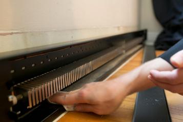 Petites rénos d'automne: un appareil dechauffage propre