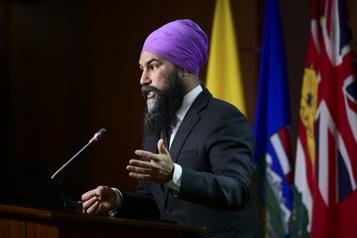 Manifestations antimasques Un lien à faire avec l'extrême droite, selon Singh)