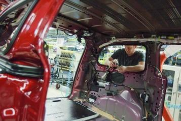 Recul des ventes des fabricants canadiens en août)