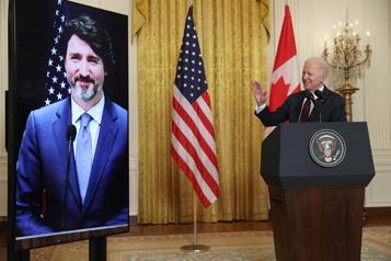 Biden félicite Trudeau pour sa réélection)