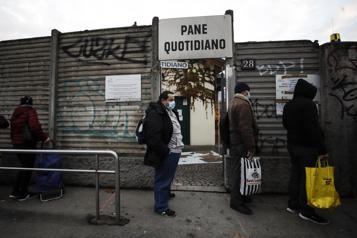 Pandémie en Italie Un million de personnes basculent dans la pauvreté)