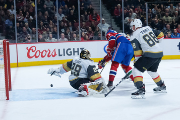 Golden Knights 4 — Canadien 5 (pointage final)