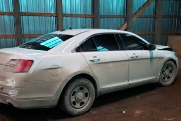Faux véhicule intercepté en Nouvelle-Écosse La revente des véhicules hors service de la GRC est suspendue)
