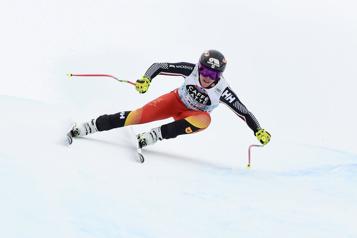 Ski alpin Marie-Michèle Gagnon dans le top 5 à l'entraînement)