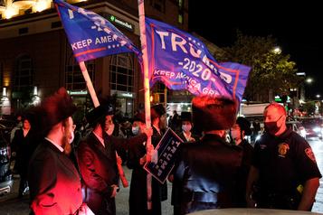 COVID-19 à New York ??Nous, les juifs, sommes des cibles faciles?? )