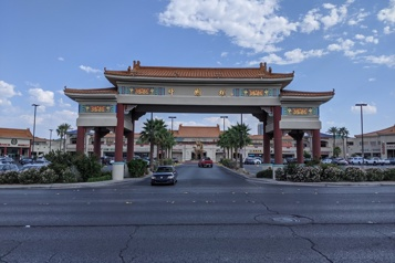 Carte postale Chinatown, version Vegas)