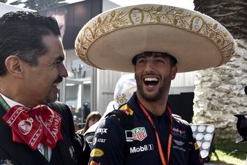 La Formule 1 restera au Mexique après 2019, sans fonds publics