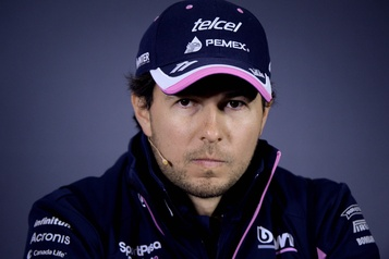 F1: pour Sergio Perez, le coronavirus frappe au plus mauvais moment)