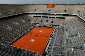 La saison de tennis suspendue jusqu'au 7juin