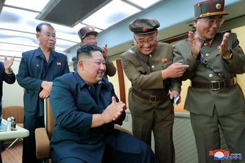 Kim a supervisé l'essai d'une «nouvelle arme» nord-coréenne