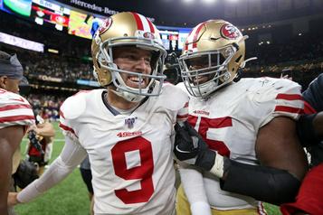 Spectaculaire victoire des 49ers contre les Saints