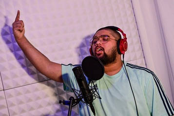 La scène hip-hop en quête d'identité aux Émirats arabes unis)