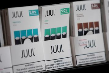 Juul suspend la vente des e-cigarettes aromatisées, sauf au menthol