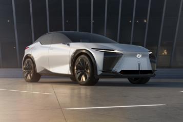 Un multisegment électrique chez Lexus)