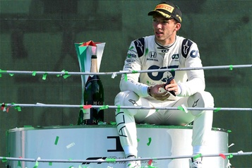 Formule 1 Pierre Gasly demeurera avec l'écurie Alpha Tauri en 2021)