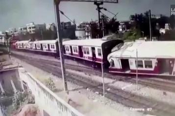 Une collision ferroviaire fait 12 blessés en Inde