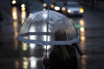 Pluie abondante dans l'est du Québec)