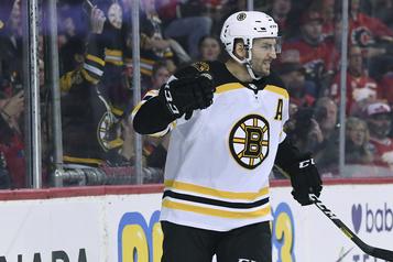 Bergeron guide les Bruins vers une victoire de 4-3