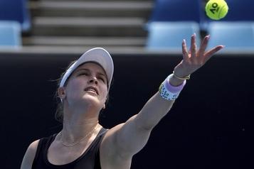 Bouchard atteint les quarts de finale à Prague)