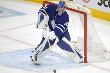 Maple Leafs Frederik Andersen sera de retour contre les Sénateurs)