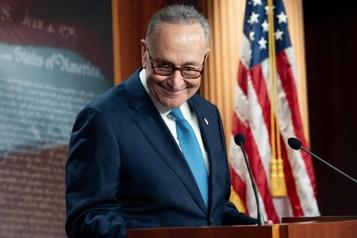 Majorité démocrate du Sénat Baptême du feu pour Chuck Schumer)