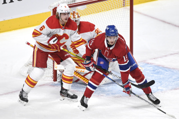 1er entracte Flames 1 – Canadien 0)