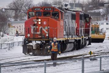 Menace de grève au CN: les trains de banlieue épargnés