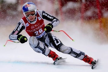 Ski alpin: Ledecka remporte la descente à Lake Louise