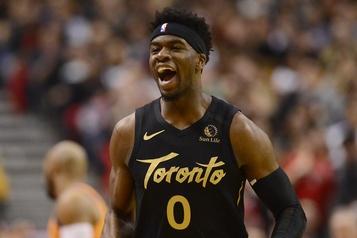 Terence Davis, des Raptors de Toronto, est arrêté pour agression)