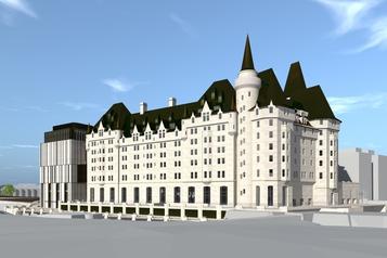 Un accord conclu pour l'agrandissement du Château Laurier à Ottawa)