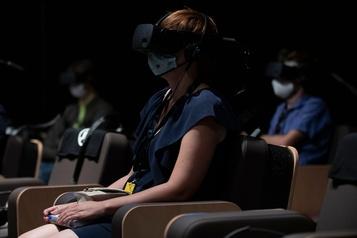 Le public membre d'un orchestre grâce à la réalité virtuelle)