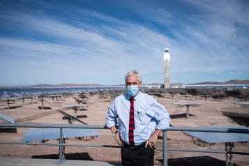 110mégawatts d'électricité propre Une centrale solaire géante inaugurée au Chili)